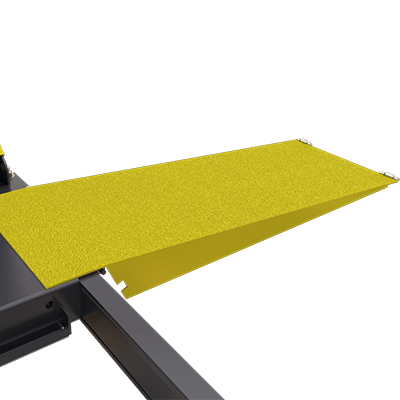 Extended 1,219 mm Steel Approach Ramps by BendPak
