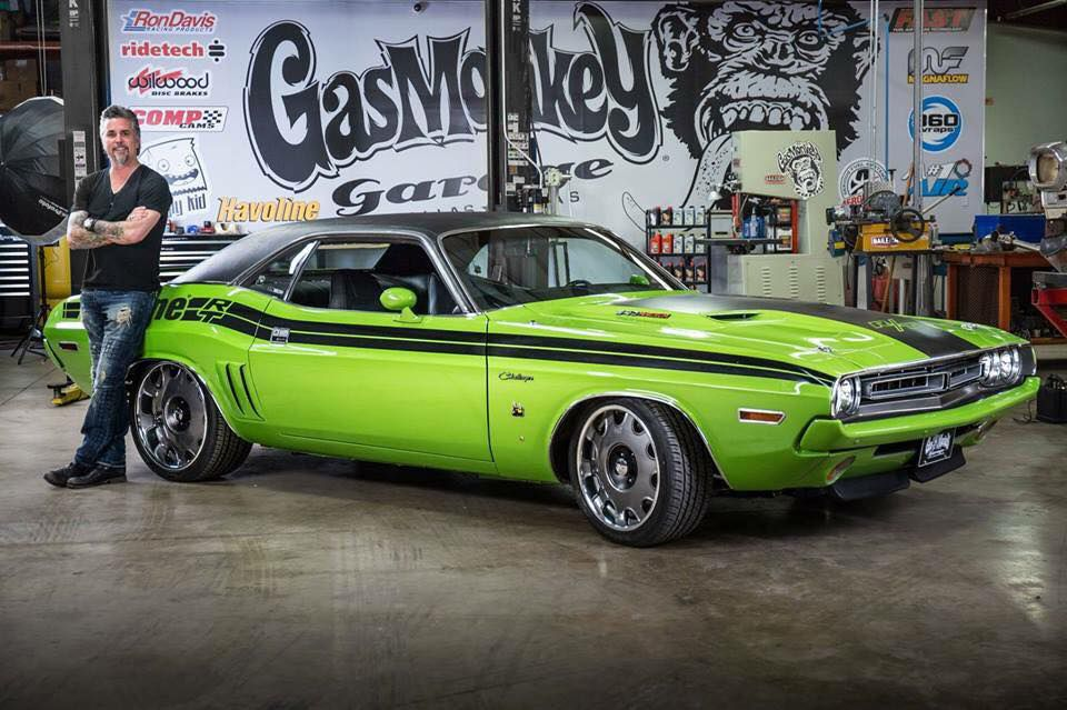 Richard Rawling of Gas Monkey Garage