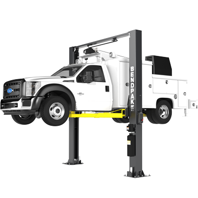 XPR-12CL-LTA 5,443-kg. Capacity / Two-Post Lift / Clearfloor / 1,828 mm Long-Reach Telescoping Arms