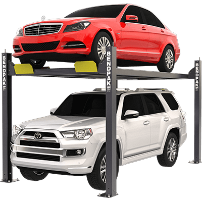 HD-7 Series 3,175-kg. Capacity / Four-Post Parking Lift