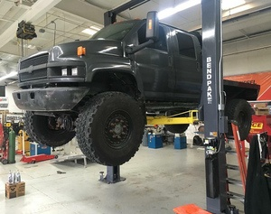 Chevy Kodiak BendPak Car Lift Two Post Diesel Brothers Heavy D Dave