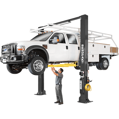 XPR-18CL 8,165-kg. Capacity / Two-Post Lift / Clearfloor / Standard Arms