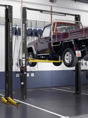 Best Extended Height Two Post Lift BendPak