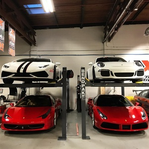 Storing High End Sports Cars BendPak Lift