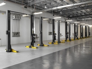 Ford Dealership BendPak Two Post Car Lifts