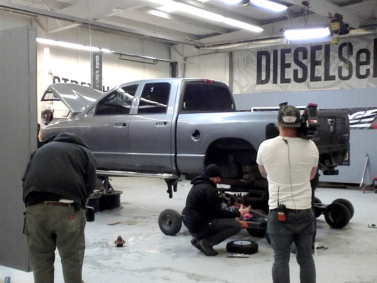 Diesel Brothers TV Show Featuring BendPak lifts